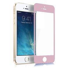 ราคา P One ฟิล์มกระจกนิรภัย Iphone Se5 5S 5C หน้า หลัง Rose Gold ออนไลน์ Thailand