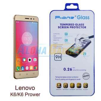 P-One ฟิล์มกระจกนิรภัย Lenovo K6 / K6 Power-