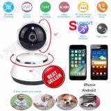 ราคา P2P V380 Hd 720P Mini Ip Camera Wifi Camera Wireless Security White Black ถูก