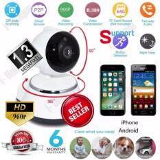 P2P V380 HD 960P Mini IP Camera Wifi Camera Wireless Security ( white/black)