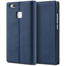 ขาย เคสหัวเหว่ย P9 Lite Bez® เคสมือถือ แบบฝาพับ ฝาปิด ตั้งได้ มีช่องใส่บัตร มีช่องใส่ธนบัตร เคสหนัง ซองมือถือ Huawei P9 Lite Lite Flip Case Cover Pu1 Hp9L ถูก กรุงเทพมหานคร