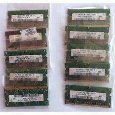 ซื้อ Pack 10 Hynix Ddr2 10Gb 10X1Gb Pc2 5300 Ddr2 667Mhz 200Pin Sodimm Laptop Notebook Memory แรม Hynix 1Gb C2 5300 Ddr2 667Mhz สำหรับ Notebook Pack ละ 10 ตัว ออนไลน์ ถูก