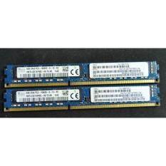 Pack 2 (2x8GB) SKhynix  RAM  Server  8GB ECC (HMT31GR7CFR4A-H9 T8 AD)   Bus  1333 MHz. 10600R  For  Mac PRO,Dell,HP,IBM,Compaq,Work Station,MB intel X79(AS Rock ,ASUS,MSI,Gigabyte),Chipset  X79 Express   ตระกูล  INTEL X79  LGA2011 (Refurbished)