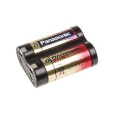 ซื้อ Panasonic ถ่านกล้องถ่ายรูป 2Cr5 6V สีดำแดง ใหม่ล่าสุด