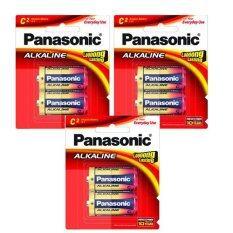 ราคา Panasonic ถ่านอัลคาไลน์ C 2 ก้อน Lr14T 3 แพค 6 ก้อน 2 ก้อน เเพค ใหม่ล่าสุด