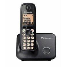 โทรศัพท์ไร้สาย Panasonic รุ่น Kx-Tg3711 สีดำ.