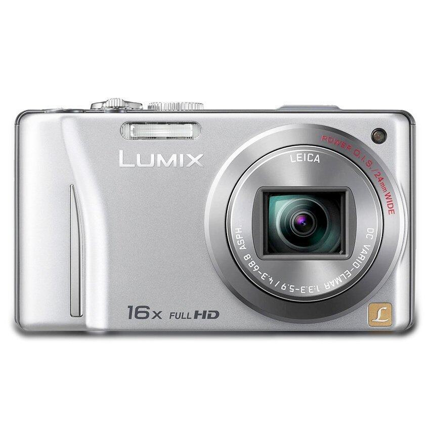 ขาย ซื้อ ออนไลน์ Panasonic Lumix Dmc Tz25 12 Mp 16X Optical Zoom Silver