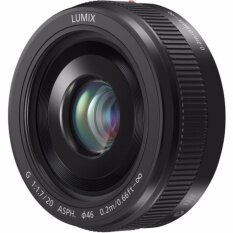 ขาย ซื้อ Panasonic Lumix G 20Mm F1 7 Ii Asph Lens Black Intl ฮ่องกง