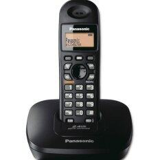 Panasonic โทรศัพท์ไร้สาย รุ่น Kx-Tg3611bxb (สีดำ).