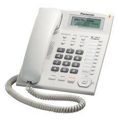 Panasonic โทรศัพท์มีสาย รุ่น Kx-Ts880mx (สีขาว สีดำ).
