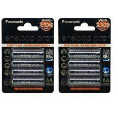 ส่วนลด Panasonic ถ่านชาร์จ Eneloop Pro ไซส์ Aa 2500 Mah 8 ก้อน สีดำ Panasonic ใน กรุงเทพมหานคร