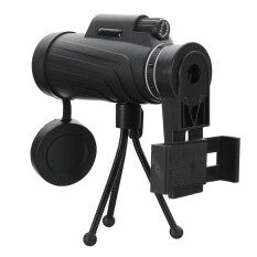 โปรโมชั่น Panda 40X60 Hd Zoom Lens Camping Travel Waterproof Monocular Telescope Tripod Clip For Cell Phone Intl ถูก