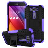 ขาย Pc Tpu Kickstand Hybrid Case For Asus Zenfone 2 Laser Ze500Kg Ze500Kl 5 Inch Purple ออนไลน์ จีน