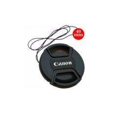 Pcc ฝาปิดหน้าเลนส์ Canon ขนาด 49mm.