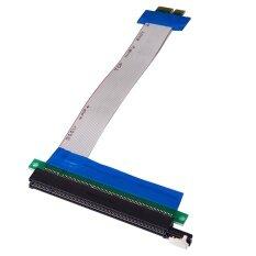 ซื้อ Pci E Pcie 1X ไปยัง 16X Riser อะแดปเตอร์การ์ด Pci ด่วน Flex ส่วนขยายสายแปลง 25 เซนติเมตร นานาชาติ ออนไลน์ ถูก