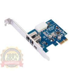 ส่วนลด Pci Express 1 Pci E Firewire 1394A Ieee1394 Jmb381 Chipset Controller Card Bb Shop Thailand