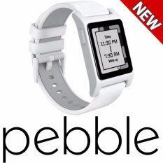 ขาย ซื้อ Pebble 2 Heart Rate Smart Watch White White Intl เกาหลีใต้