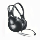 ราคา Philips Headphone With Mic For Pc Shm1900 93 Black Philips เป็นต้นฉบับ