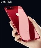 ส่วนลด Phone Back Cover For Apple Iphone 8 Plus Fashion Ultra Slim Soft Case Electroplating Transparent Cover Crystal Clear Case For Iphone 8 Plus 5 5 Inch Intl Urshine