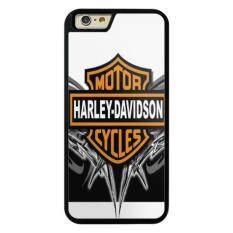 Phone Case For Iphone 6Plus 6Splus Harley Davidson Logo Wallpapers Background Cover For Apple Iphone 6 Plus 6S Plus Intl จีน