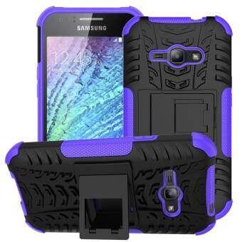 เคสโทรศัพท์สำหรับ Samsung Galaxy J1 Ace J110H แรงกระแทกรุนแรง Heavy Duty เกราะ HYBRID Anti - KNOCK ซิลิโคนฝาหลัง-