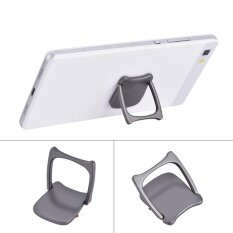 ซื้อ Phone Finger Ring Smartphone Stand Holder Pad Mount Stand 360 Degree Adjustable Gray Intl ออนไลน์ จีน