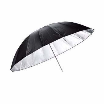 "Photography Reflector Umbrella Studio ร่มสะท้อนแสง - 43""/110cm Black/Silver"