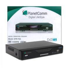 ขาย Planet Comm กล่องรับสัญญาณดิจิตอลทีวี รุ่น Dtr T2A ใหม่