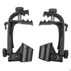 ความคิดเห็น Plastic Metal Microphone Adjustable Stage Drum Clips Mic Groove Gear Stander Intl
