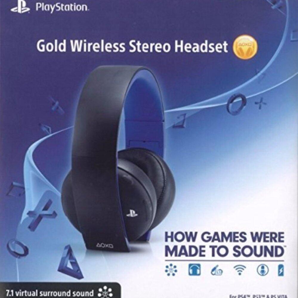 ถามผู้ที่ใช้  PlayStation Gold Wireless Stereo Headset รุ่นนี้ดีไหม