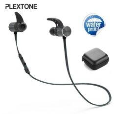 Plextone Bx343 Sport Ipx5 Waterproof Dual Battery Magnetic Wireless Bluetooth Earphone With Mic Intl จีน