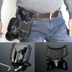 ราคา Portable 1 4 Quick Release Waist Belt Buckle Strap Hanger Holder For Dslr Camera Intl ราคาถูกที่สุด
