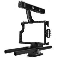 ส่วนลด Portable Aluminum Camera Cage Rig Stabilizer Top Handle Grip Accessory For Dslr Camera Dv Intl Unbranded Generic
