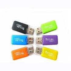 ขาย Portable Design High Speed Mini Usb 2 Card Reader Micro Sd Tf Memory Card Reader For Pc Laptop Accessories Intl Might Sight ผู้ค้าส่ง