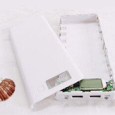ซื้อ Portable External Dual Usb Power Bank Box Diy 8 Slot 18650 Battery Case Shell Intl จีน