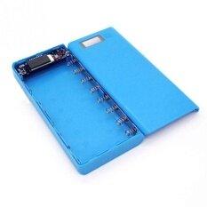 Portable External Dual Usb Power Bank Box Diy 8 Slot 18650 Battery Case Shell Intl จีน