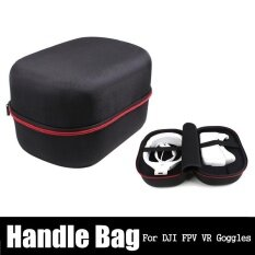 ส่วนลด Portable Handheld Handbag Storage Case Shell Carry Box For Dji Fpv Vr Goggles Intl Unbranded Generic ใน จีน