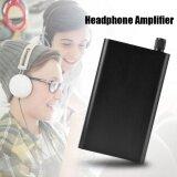 ราคา Portable Ultra Thin Stereo Audio Hifi Headphone Amplifier Digital Amp 200Mw Intl ใหม่