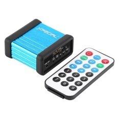 ราคา แบบพกพาไร้สายบลูทูธกล่องรับสัญญาณเครื่องขยายเสียงแก้ไข Diy พร้อมรีโมทคอนโทรล 2 นานาชาติ ราคาถูกที่สุด