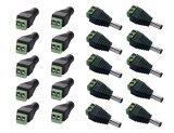 ขาย Posdou 20Pcs 2 1X5 5Mm Dc Power Cable Jack Adapter Connector Plug Led Strip Cctv Camera Use 12V 10Pcs Female 10 Pcs Male Intl เป็นต้นฉบับ