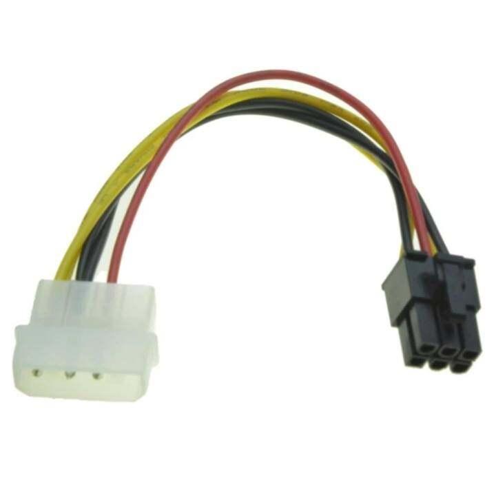ราคา Di shop สายแปลง Power 4 pin ไปเป็น 6 Pin PCI- Express