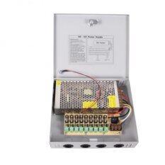 Power Supply Box for CCTV ชุดจ่ายไฟ กล้องวงจรปิด 18 Channel 12V 30A 360W