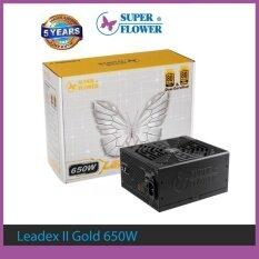 ขาย Power Supply Super Flower Leadex Ii Gold 650W Dual Certified 80 Plus 90 80 Plus 92 Sf 650F14Eg Bk 3 Years Waranty Super Flower ผู้ค้าส่ง