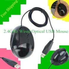 โปรโมชั่น Precise Wired Mouse Ergonomic Design Usb Mice For Computer Pc Laptop Top Quality Intl
