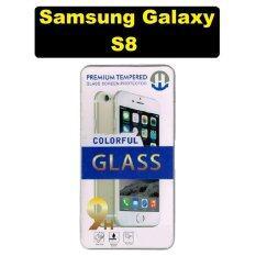 ราคา Premium ฟิล์มกระจกนิรภัยเกรดพรีเมี่ยม สำหรับ Samsung Galaxy S8 ขอบโค้ง ใหม่ ถูก