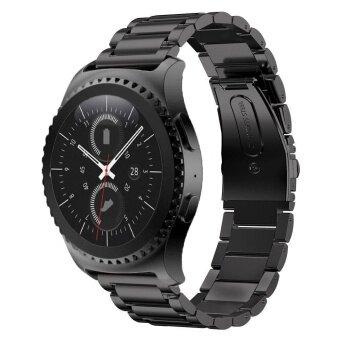 สายรัดข้อมือสแตนเลสสตีลสำหรับเกียร์ S2 คลาสสิก SM-R732 SM-R735 สมาร์ทนาฬิกา-นานาชาติ