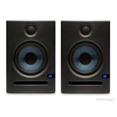 PreSonus : Eris E5 (ต่อคู่) (ลำโพงมอนอเตอร์คุณภาพสูง ขนาด 5 นิ้ว มีเสียงที่คมชัด และเบสนุ่มลึก ทำให้ได้ยินเสียง ดนตรีครบ เหมาะสำหรับการทำเพลง จะทำให้ได้ยินเสียงที่แท้จริงของดนตรี)