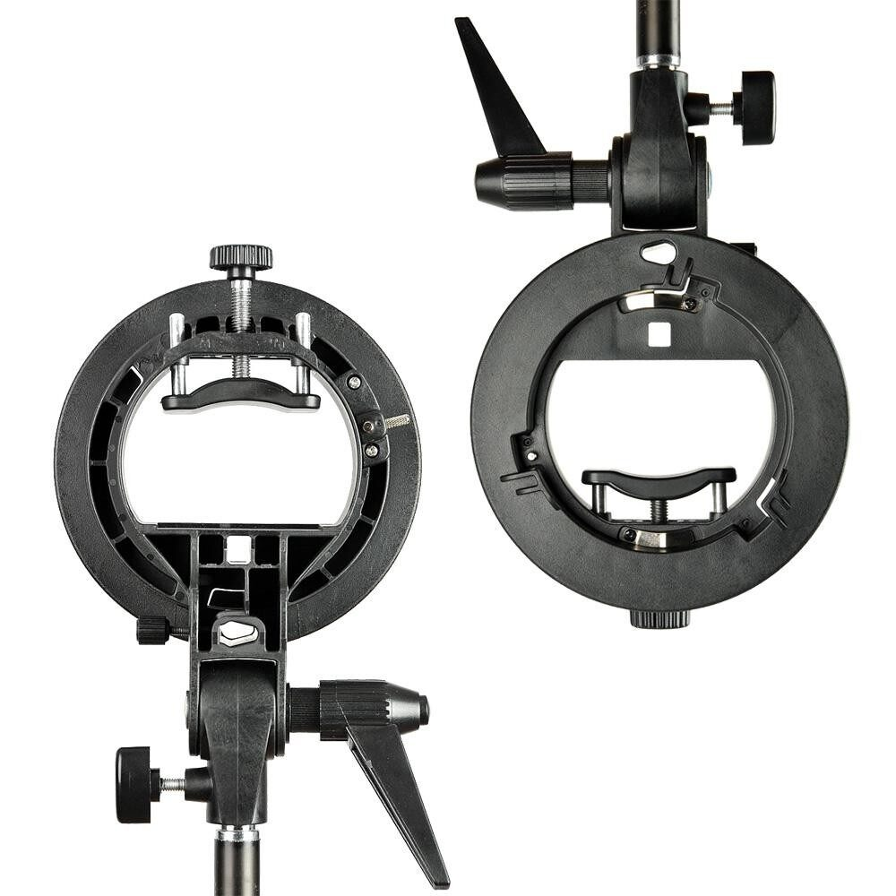 PRO Godox S-Type Bracket Bowens Mount Holder for Speedlite Flash Snoot Softbox - intl