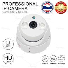 Professional CCD DOME camera / 1.3 MP IP CCTV 3.6mm Lens HD720P / DAY&NIGHT / DC 12V Power Supply