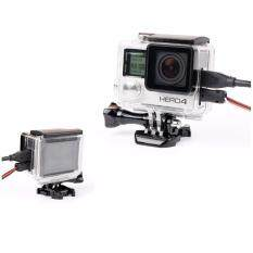Protective Housing Case Open Side For Gopro 4/3+.